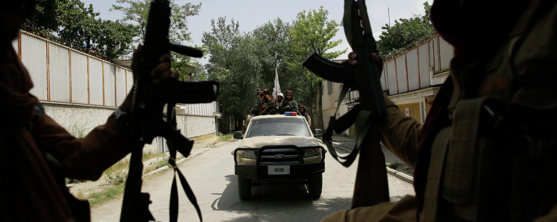 Talibani tokom patrole u Kabulu - Sputnik Srbija, 1920, 24.08.2021