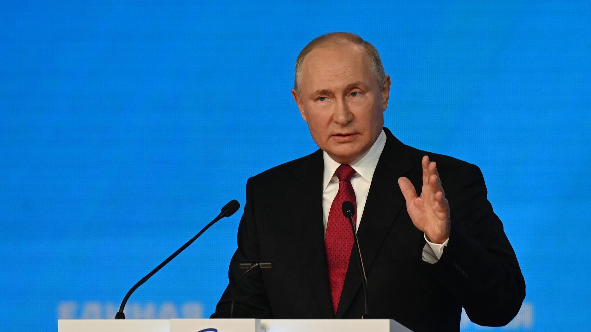Ruski predsednik Vladimir Putin - Sputnik Srbija, 1920, 25.09.2021