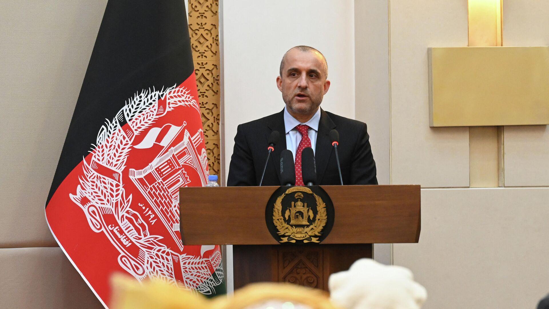 Potpredsednik Avganistana Amrulah Saleh - Sputnik Srbija, 1920, 25.08.2021