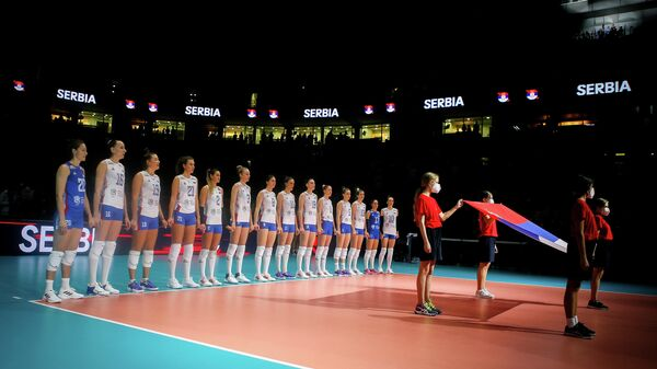 Srbija – Rusija, odbojka, Evropsko prvenstvo - Sputnik Srbija