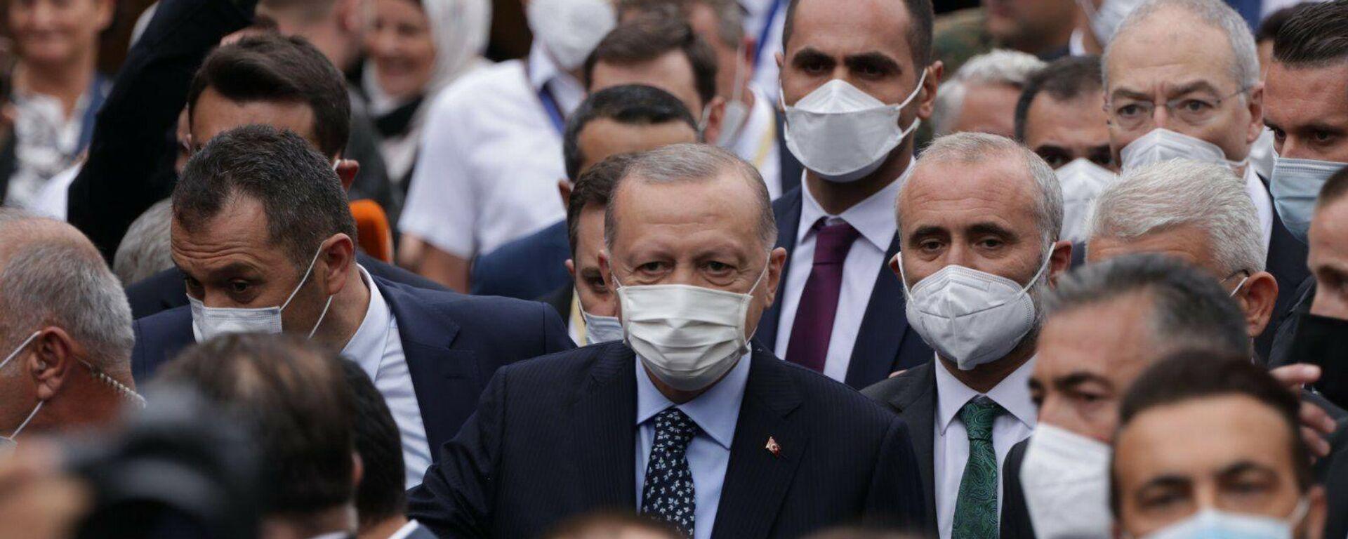 Turski predsednik Redžep Tajip Erdogan u Sarajevu - Sputnik Srbija, 1920, 27.08.2021