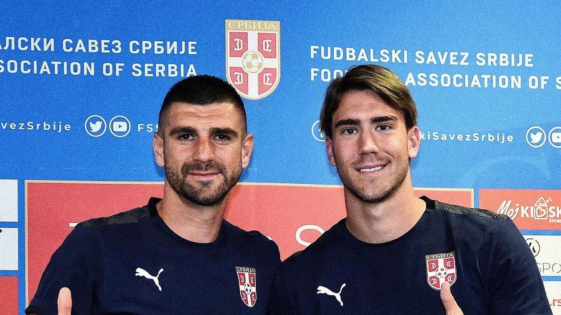 Stefan Mitrović i Dušan Vlahović - Sputnik Srbija, 1920, 30.08.2021
