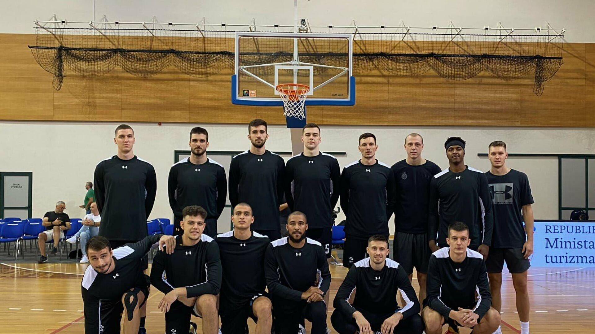 Košarkaši Partizana - Sputnik Srbija, 1920, 01.09.2021