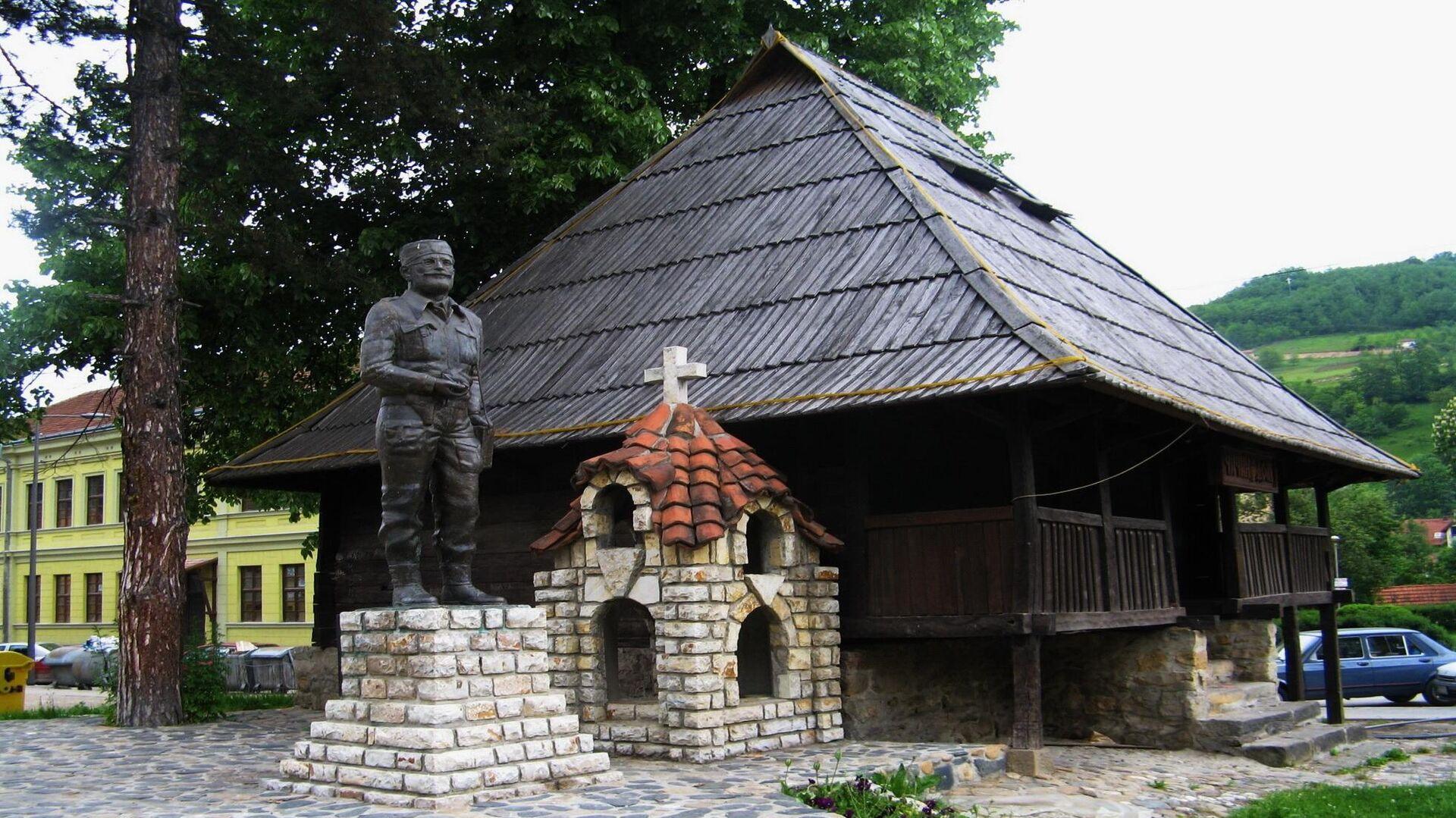 Spomenik Draži Mihailoviću i Dražin dom u Ivanjici - Sputnik Srbija, 1920, 04.09.2021