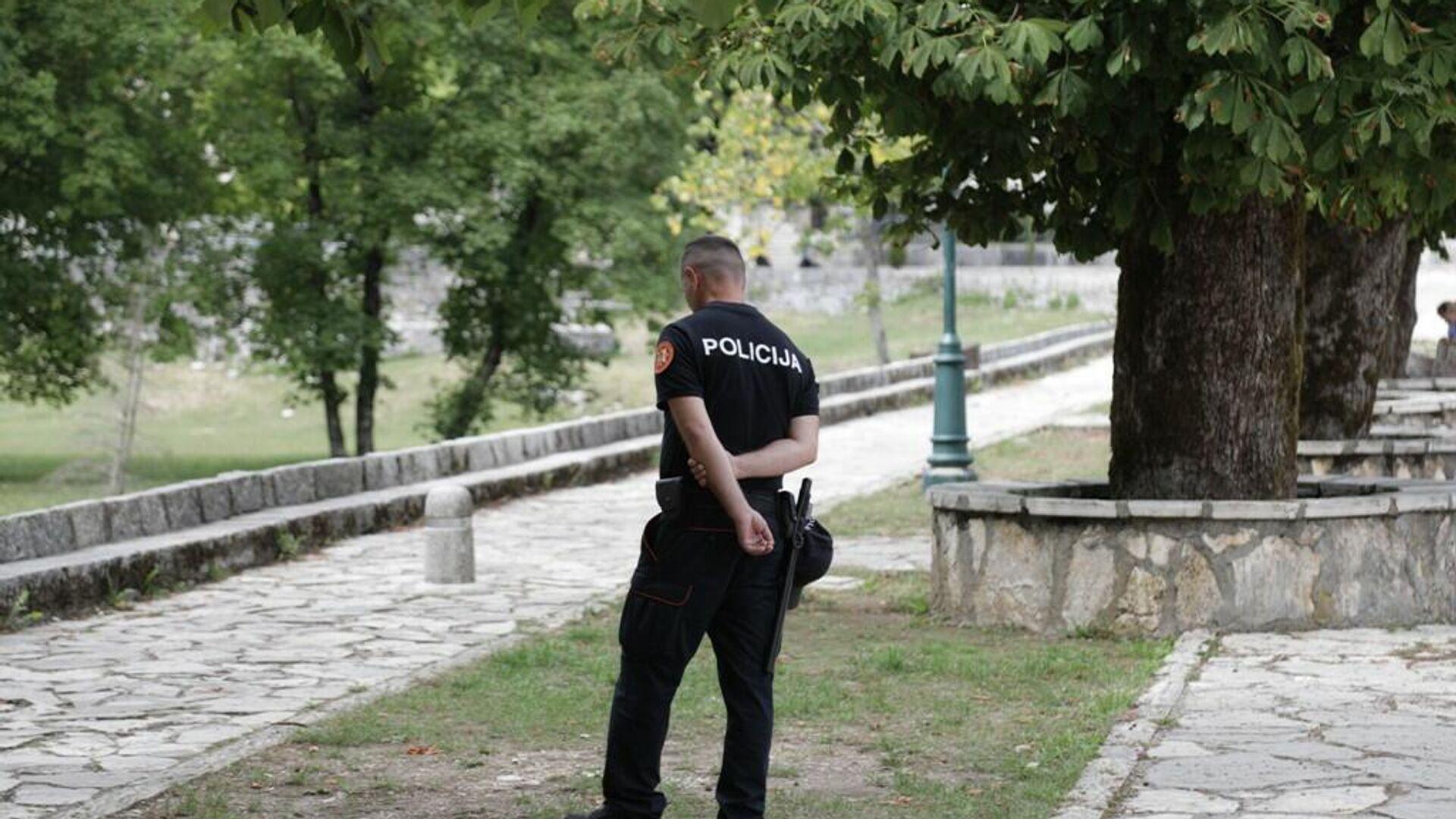 Полиција дежура у комплексу Цетињског манастира - Sputnik Србија, 1920, 08.09.2021
