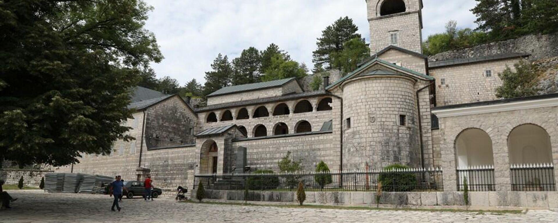 Poslednje pripreme pred ustoličenje mitropolita Joanikija u Cetinjskom manastiru - Sputnik Srbija, 1920, 14.09.2021