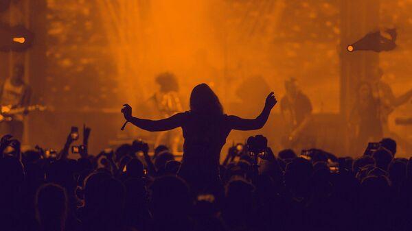 Публика на рок концерту - Sputnik Србија