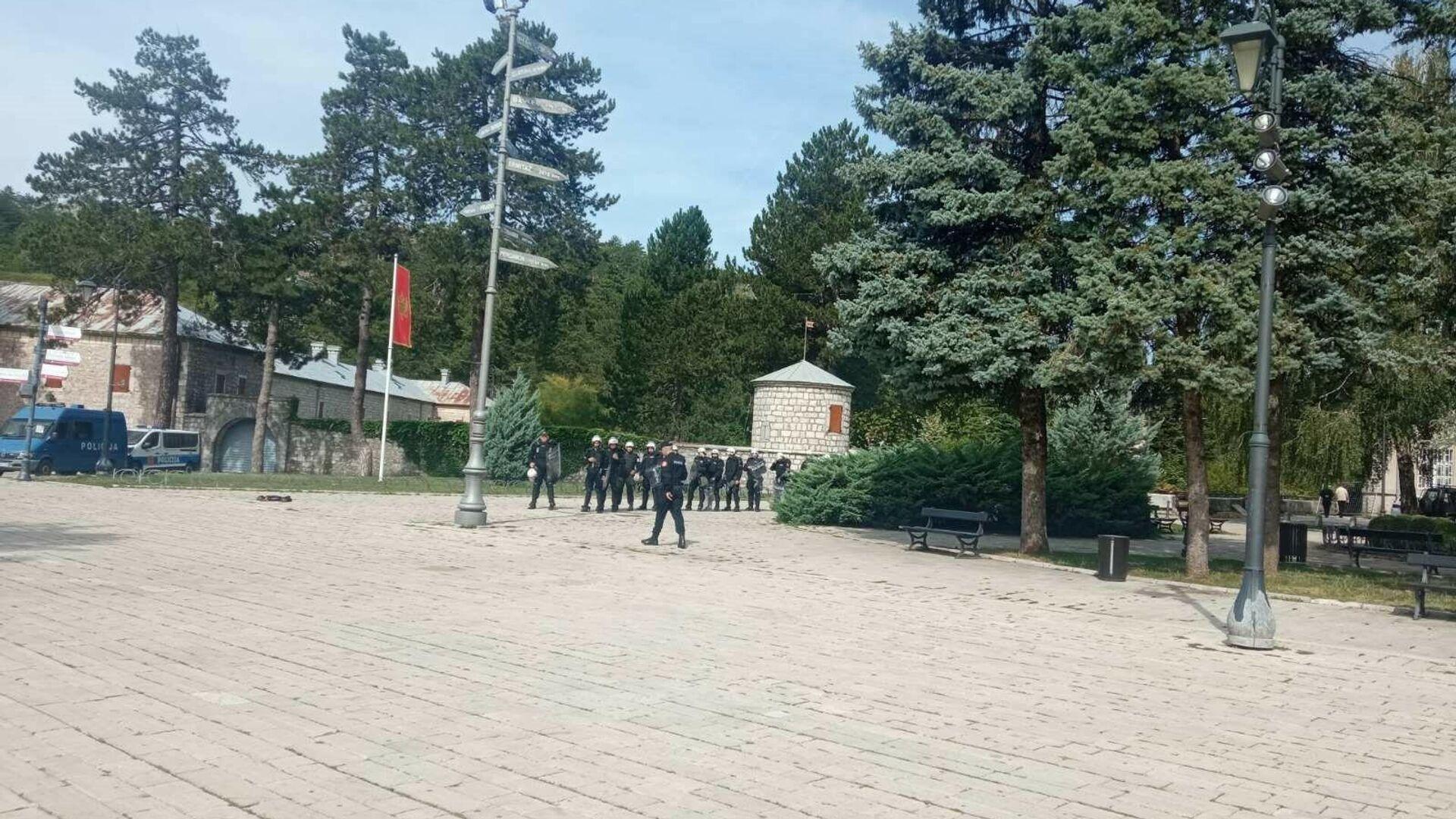 Црногорска полиција на Цетињу - Sputnik Србија, 1920, 04.09.2021