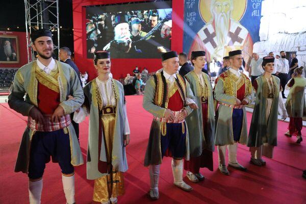 Doček patrijarha Porfirija u Podgorici - Sputnik Srbija