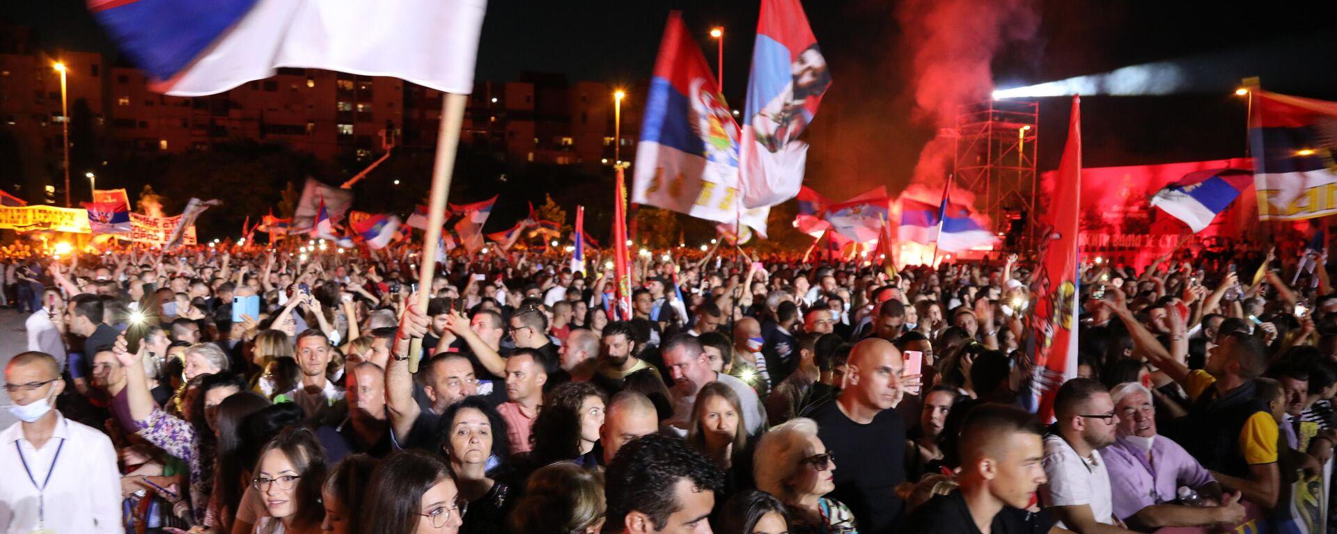 Uzavrele strasti – Kakva će Crna Gora biti od 5.septembra I Sputnjik intervju - Sputnik Srbija, 1920, 04.09.2021