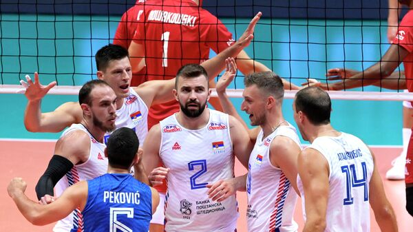 Одбојкаши Србије – Европско првенство - Sputnik Србија