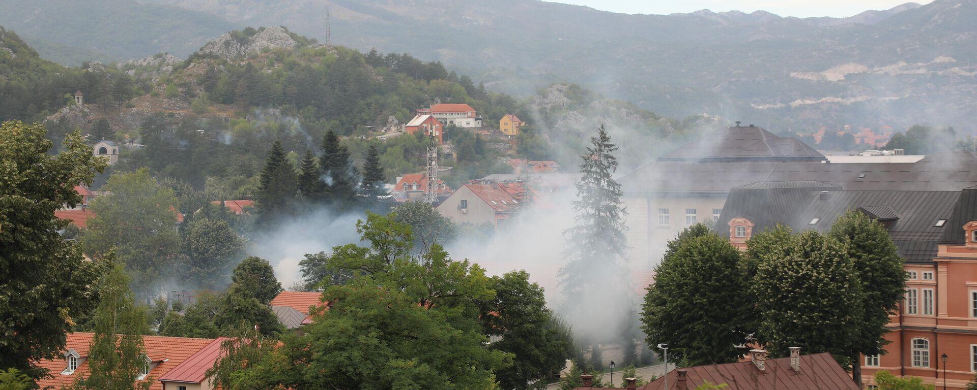 Probijene barikade ispred Cetinja - Sputnik Srbija, 1920, 06.09.2021
