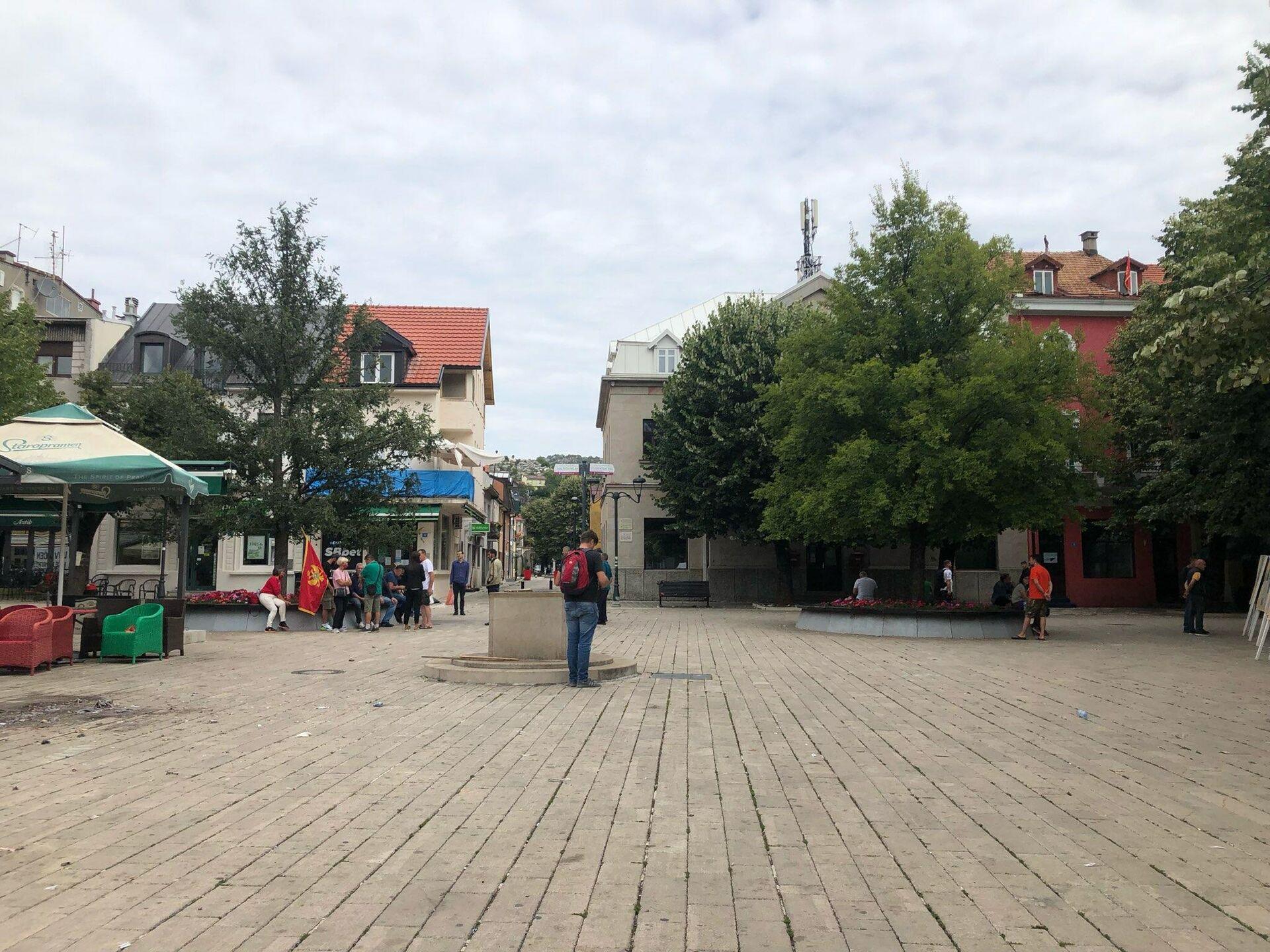 Подручје око цетињског манастира након што је церемонија устоличења митрополита Јоаникија завршена - Sputnik Србија, 1920, 05.09.2021