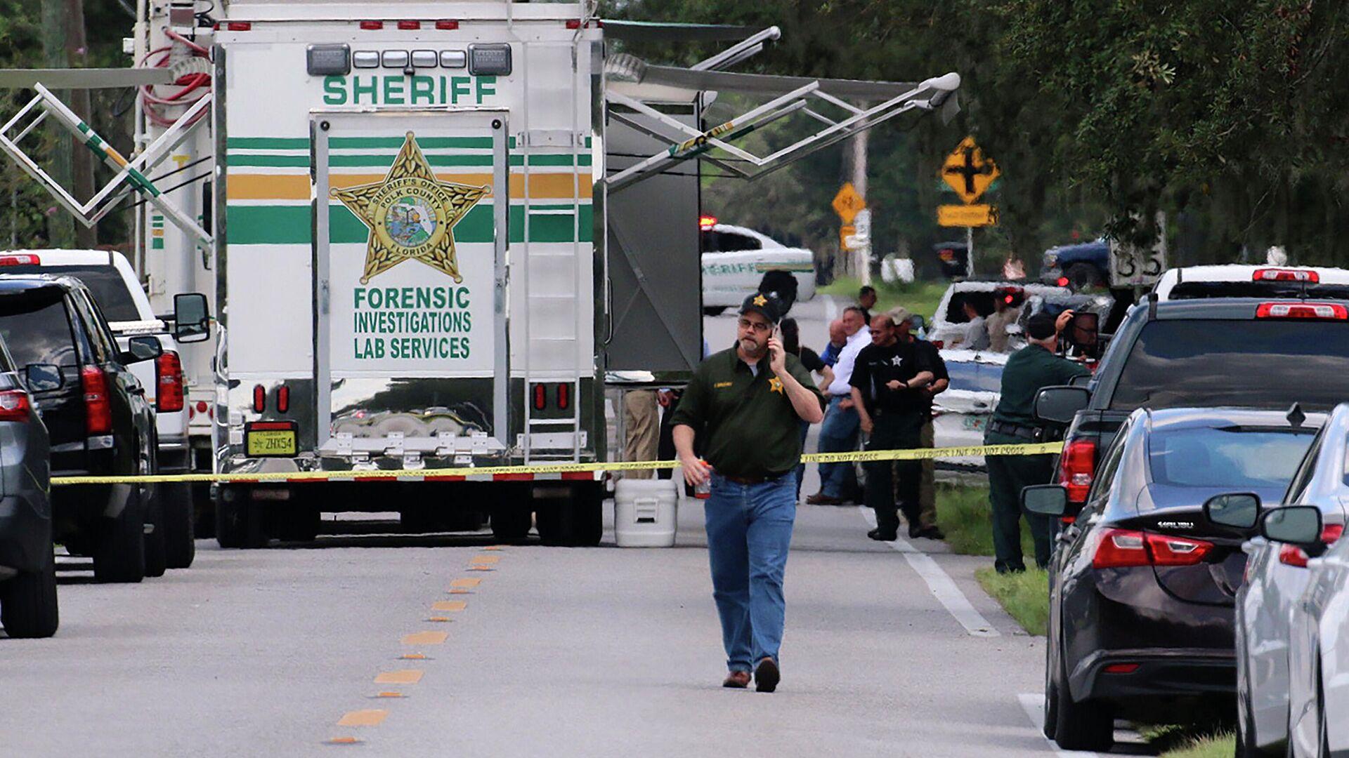 Pucnjava u Lejklandu na Floridi, ubijene četiri osobe, među kojima i beba - Sputnik Srbija, 1920, 05.09.2021