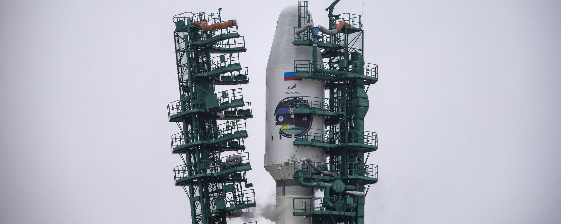 Start rakete-nosača Sojuz 2.1b sa kosmičkim aparatom Arktika M - Sputnik Srbija, 1920, 06.09.2021