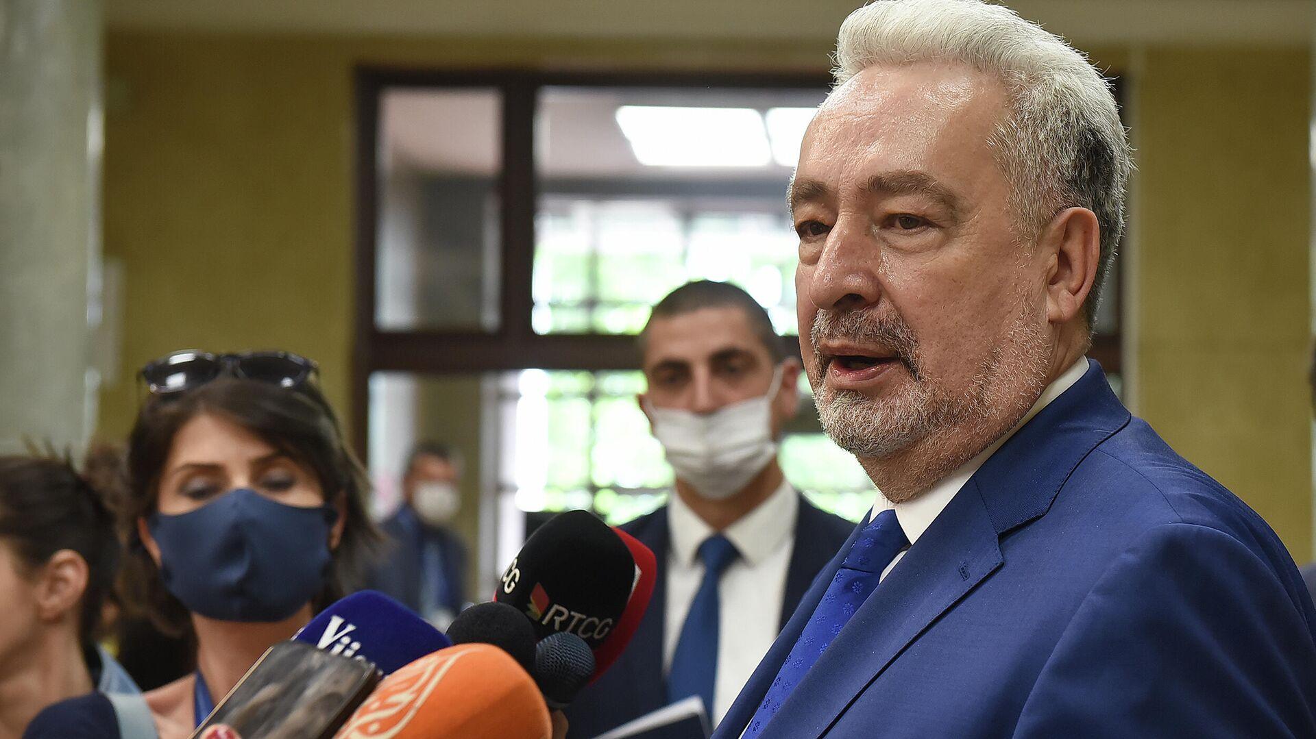 Premijer Crne Gore Zdravko Krivokapić - Sputnik Srbija, 1920, 02.10.2021