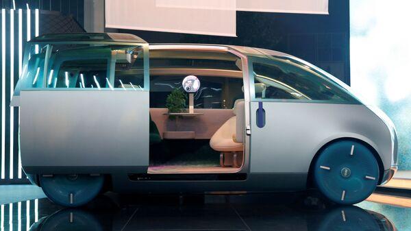 Концепт-кар MINI Vision Urbanaut на Международном Мюнхенском автосалоне - Sputnik Србија