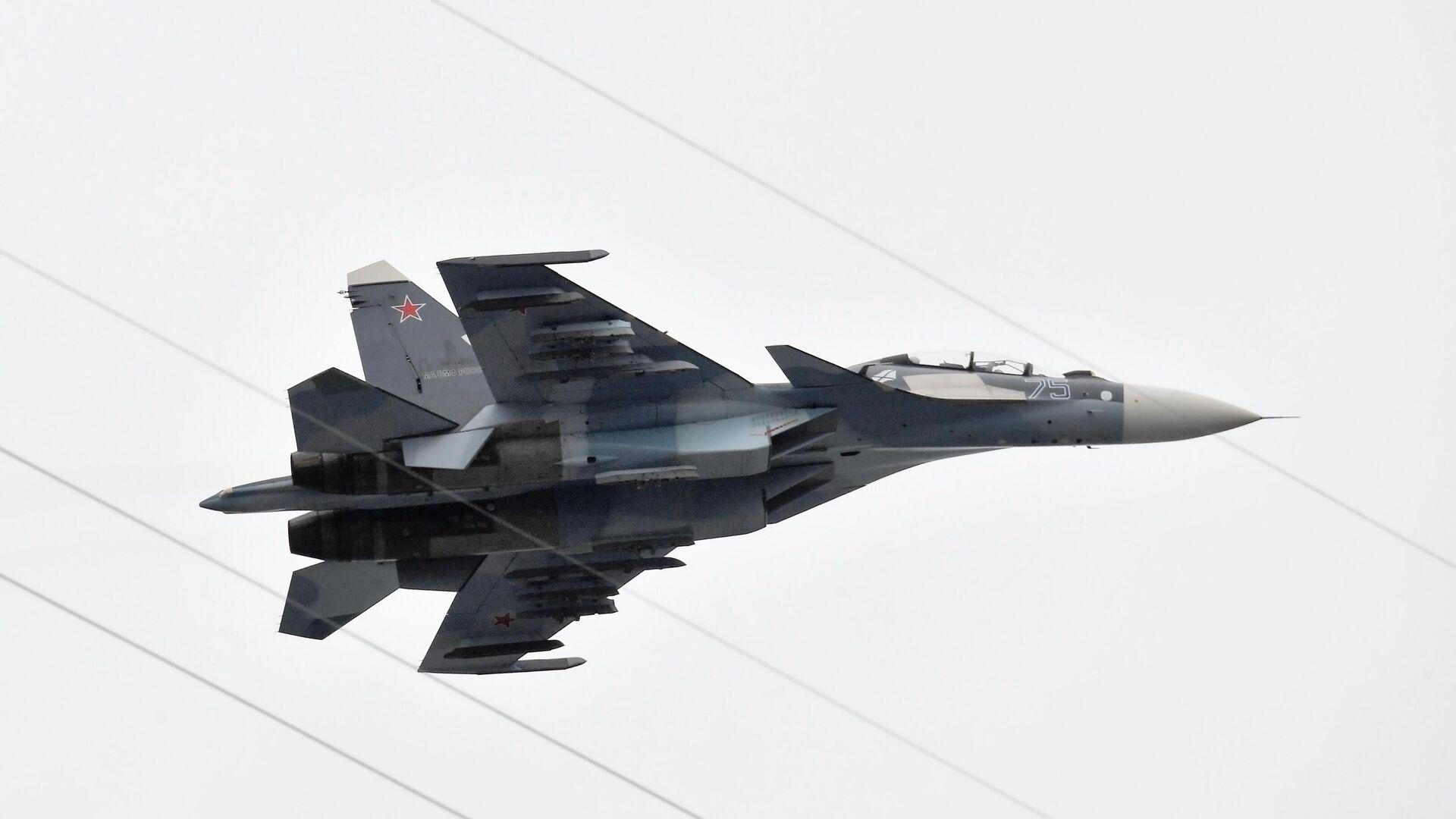 Руски ловац Су-30СМ - Sputnik Србија, 1920, 19.09.2021