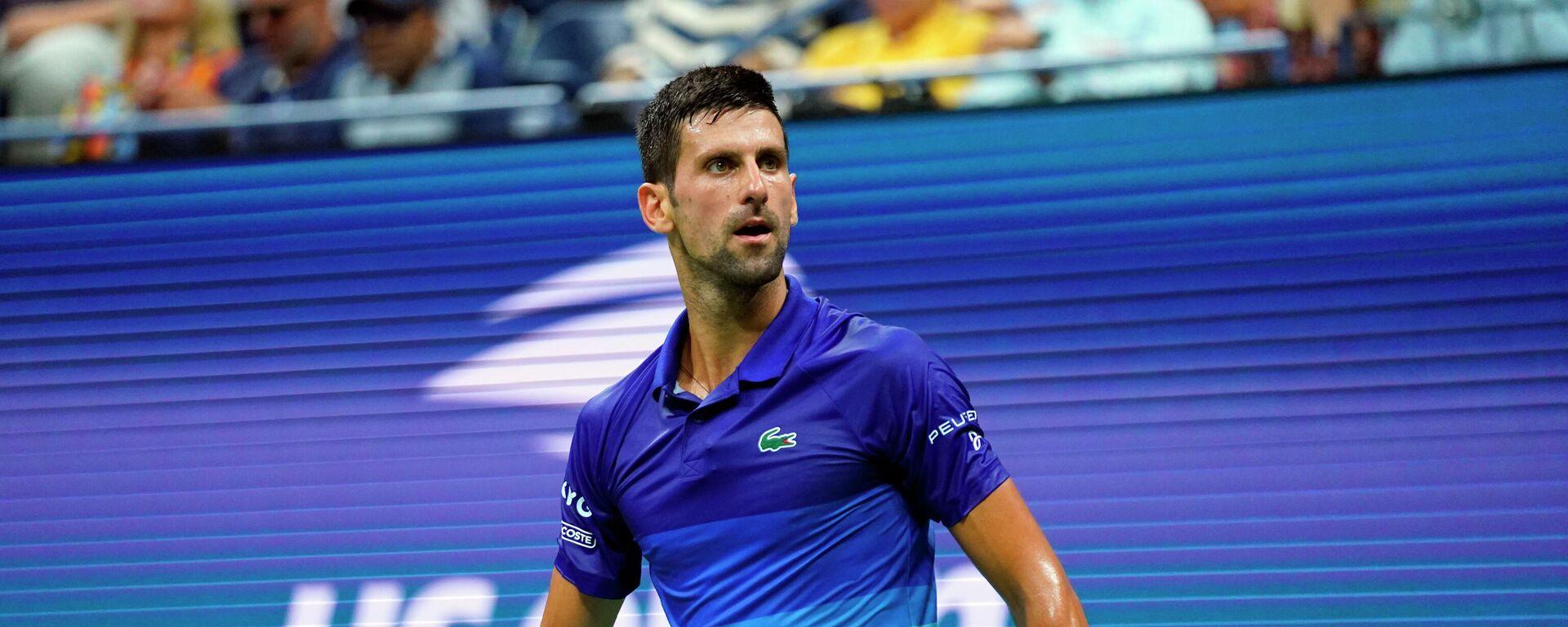 Srpski teniser Novak Đoković - Sputnik Srbija, 1920, 09.09.2021