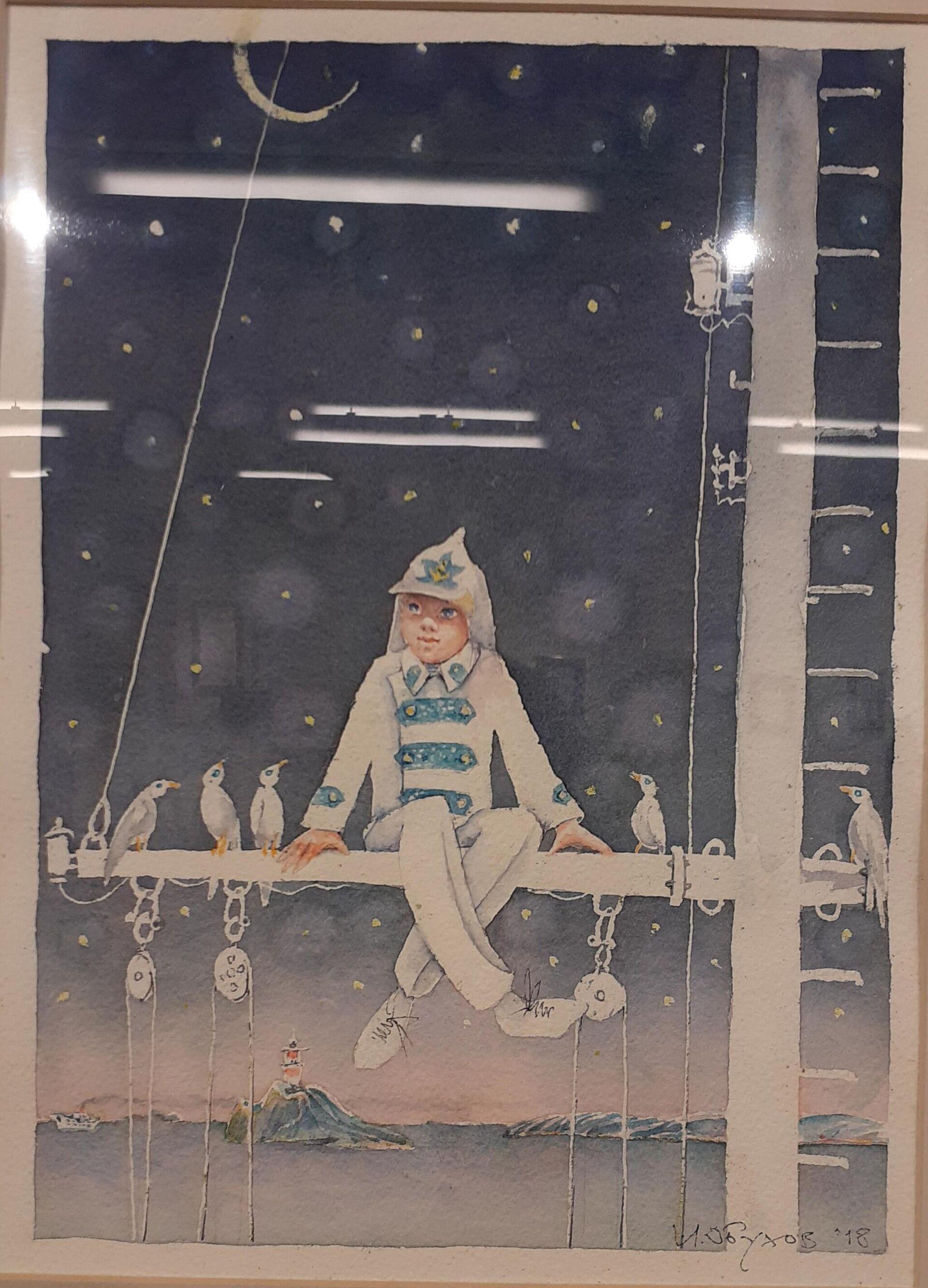 Изложба Игора Обухова Влад и Восток у Руском дому у Београду - Sputnik Србија, 1920, 09.09.2021