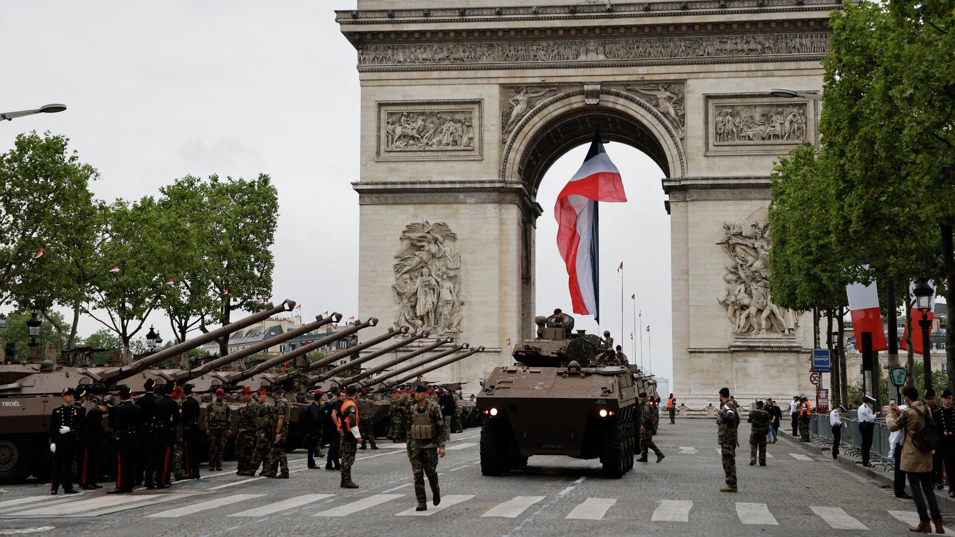 Vojna parada u Parizu - Sputnik Srbija, 1920, 12.09.2021