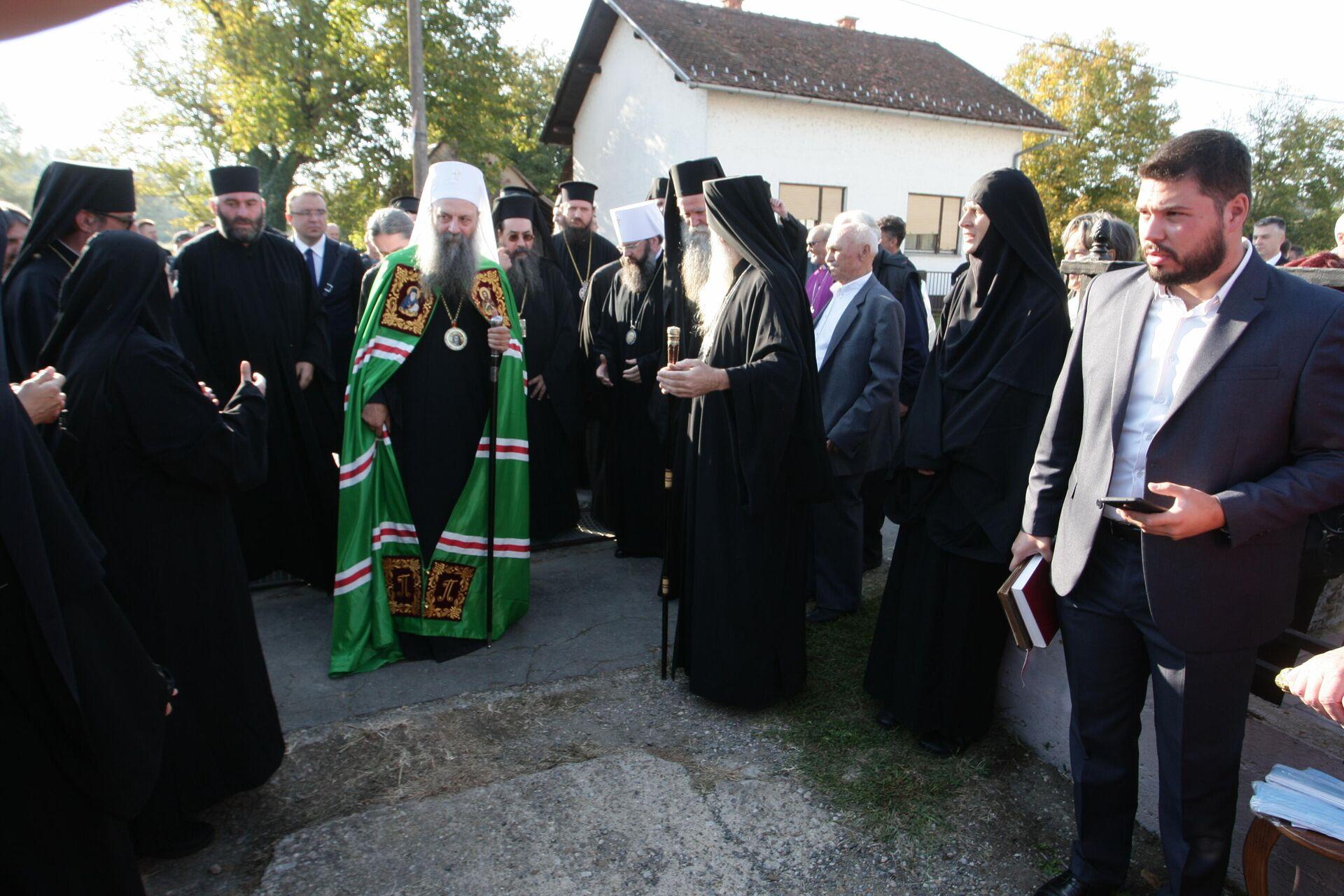 Централна прослава празника Светих новомученика јасеновачких - Sputnik Србија, 1920, 13.09.2021