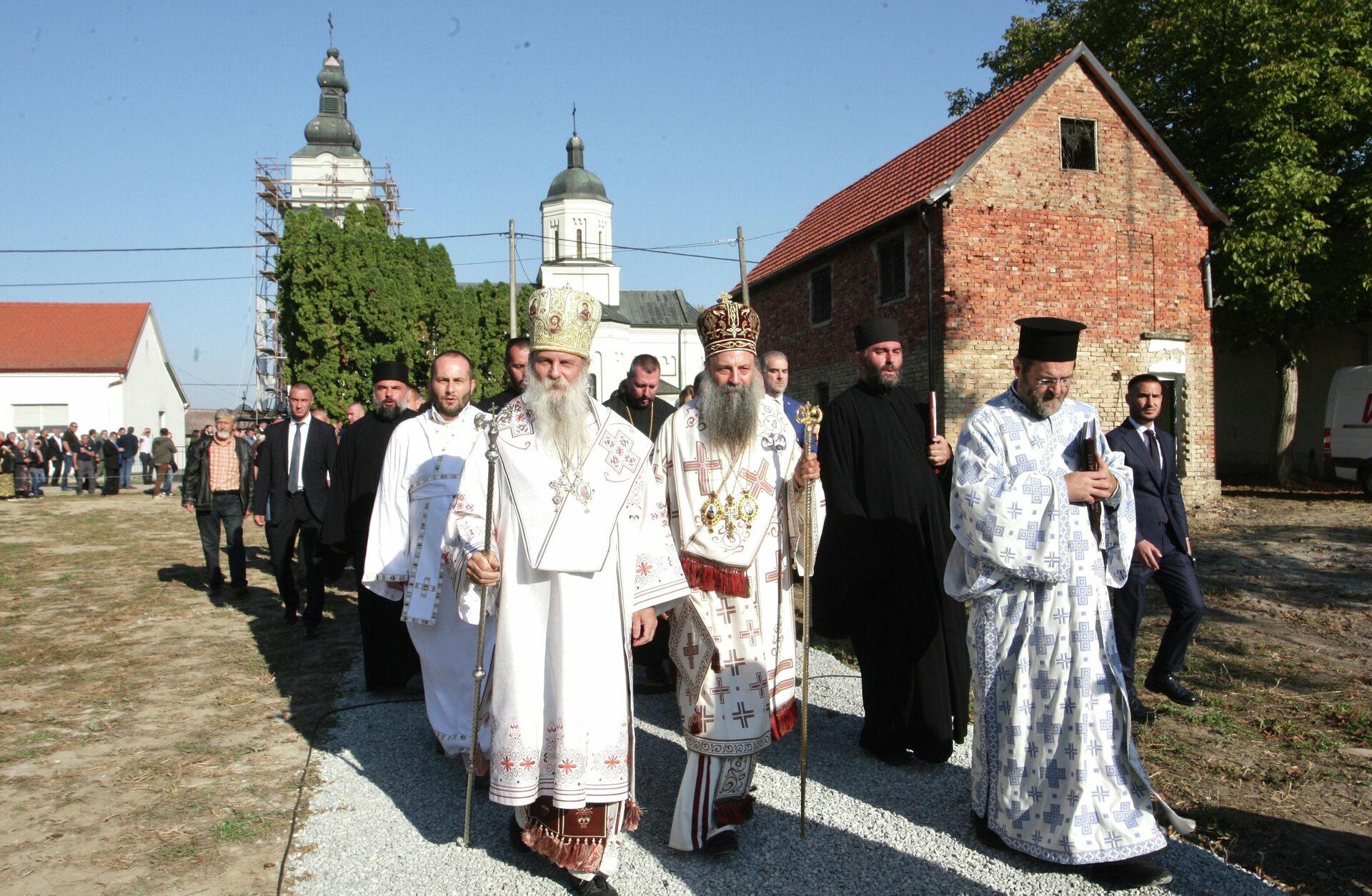 Патријарх Порфирије у Јасеновцу - Sputnik Србија, 1920, 13.09.2021