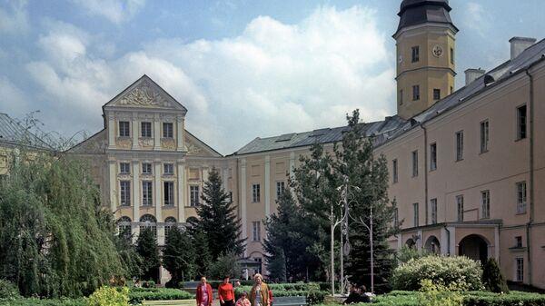 Њасвишки замак у Белорусији - Sputnik Србија