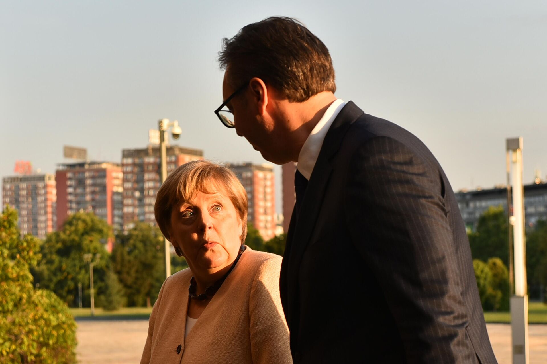 Ангела Меркел и Александар Вучић - Sputnik Србија, 1920, 13.09.2021