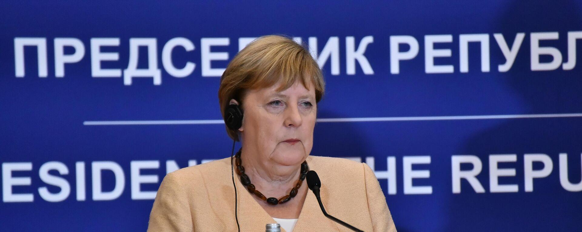 Angela Merkel u Beogradu - Sputnik Srbija, 1920, 16.09.2021