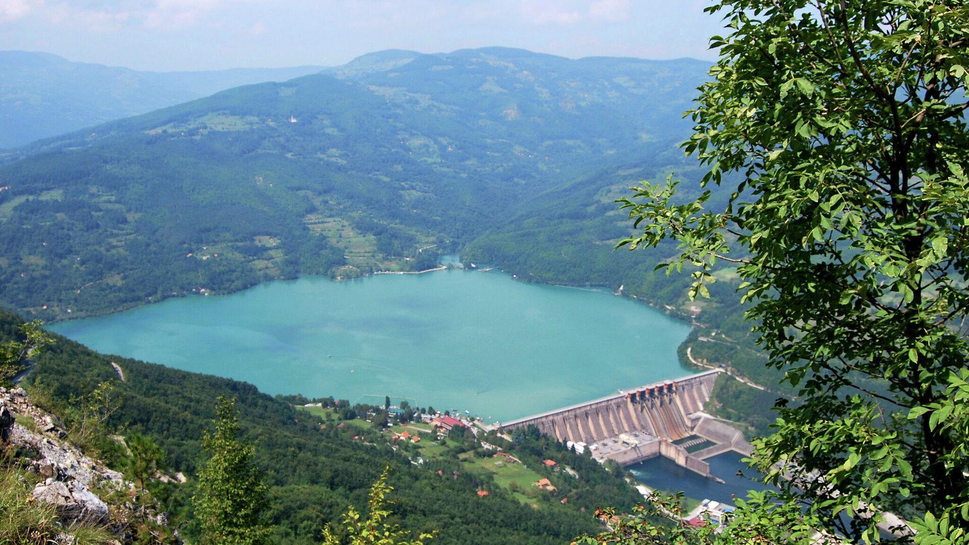 Језеро Перућац - Sputnik Србија, 1920, 14.09.2021