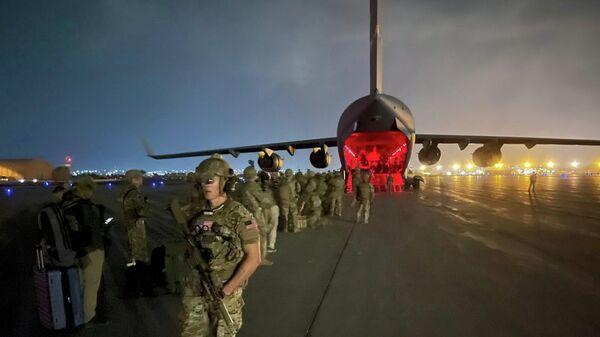 Евакуација америчких војника из Кабула - Sputnik Србија