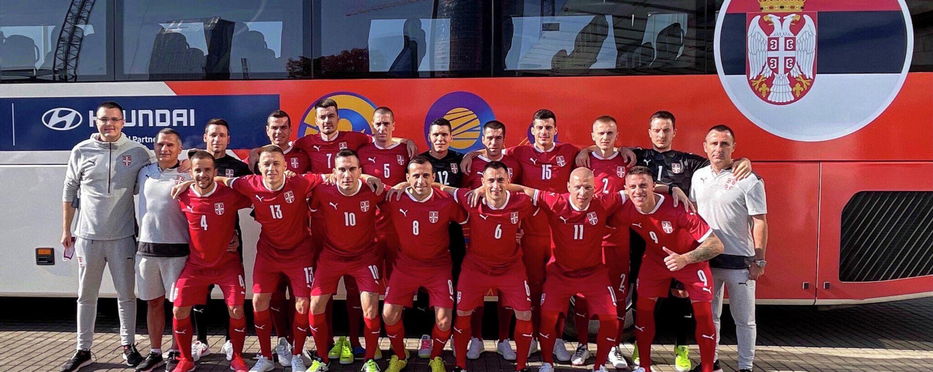 Futsal reprezentacija Srbije - Sputnik Srbija, 1920, 14.09.2021