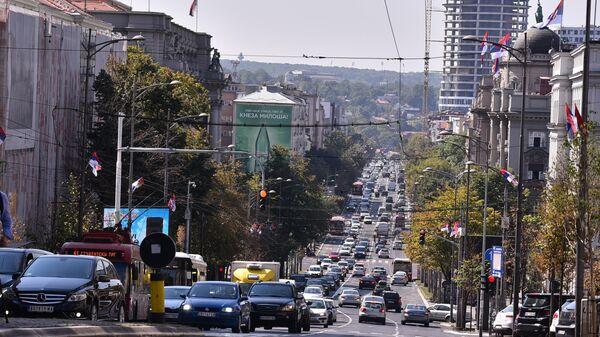 Улица кнеза Милоша у Београду - Sputnik Србија