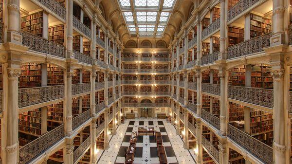Библиотека Джорджа Пибоди, Балтимор, США - Sputnik Србија