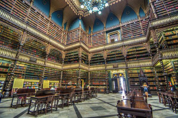 Portugalska kraljevska biblioteka, Rio de Žaneiro, Brazil - Sputnik Srbija