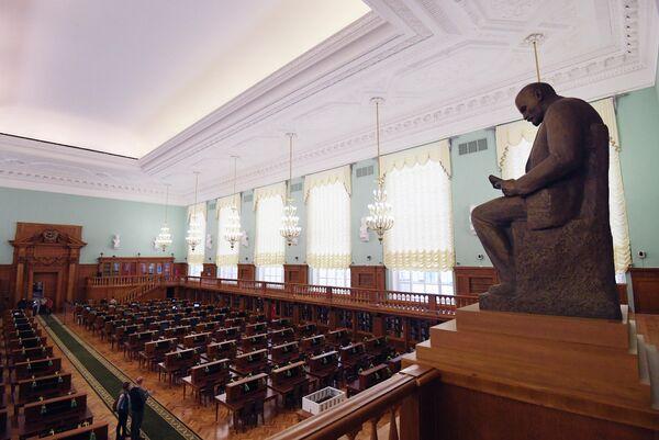 Ruska državna biblioteka je najveća javna biblioteka u Rusiji i kontinentalnoj Evropi, jedna od najvećih u svetu. - Sputnik Srbija