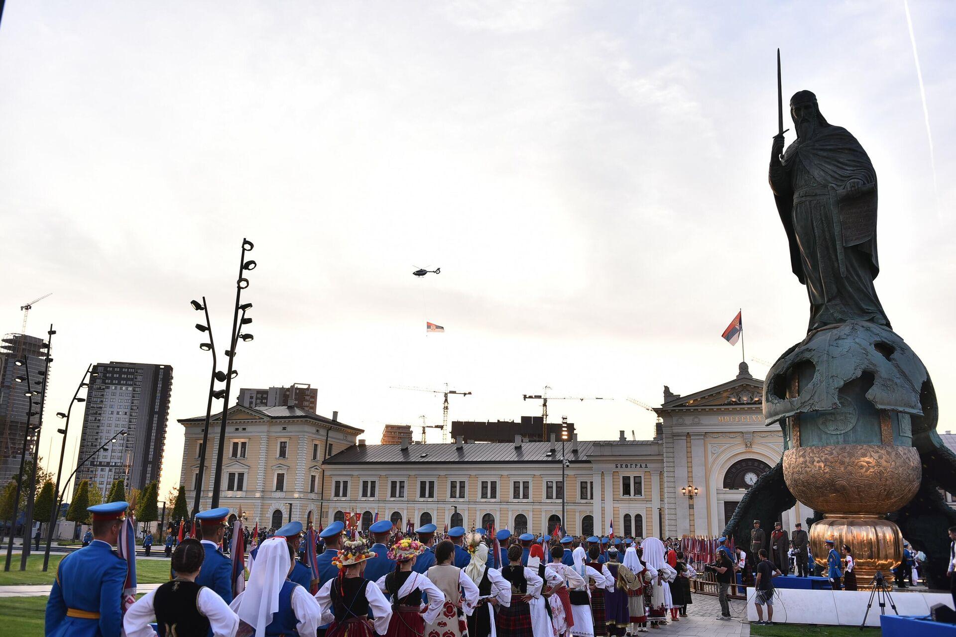 Централна прослава Дана српској јединства, слободе и националне заставе - Sputnik Србија, 1920, 15.09.2021