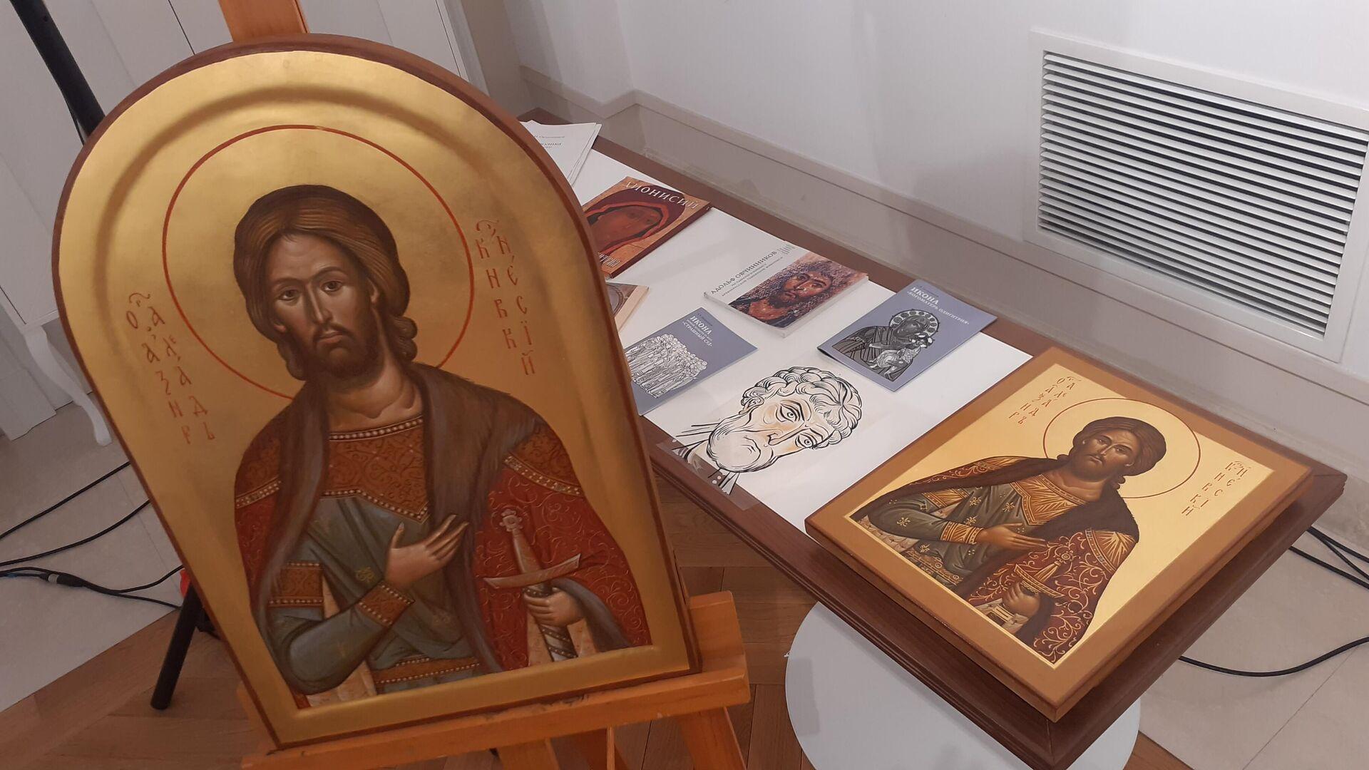 Ikone koje ruski umetnici daruju Srbiji - Sputnik Srbija, 1920, 16.09.2021