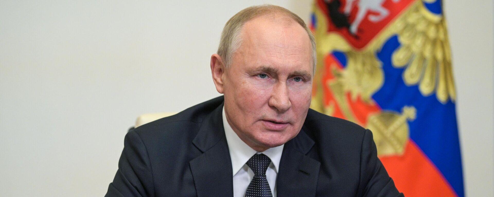 Ruski predsednik Vladimir Putin - Sputnik Srbija, 1920, 17.09.2021