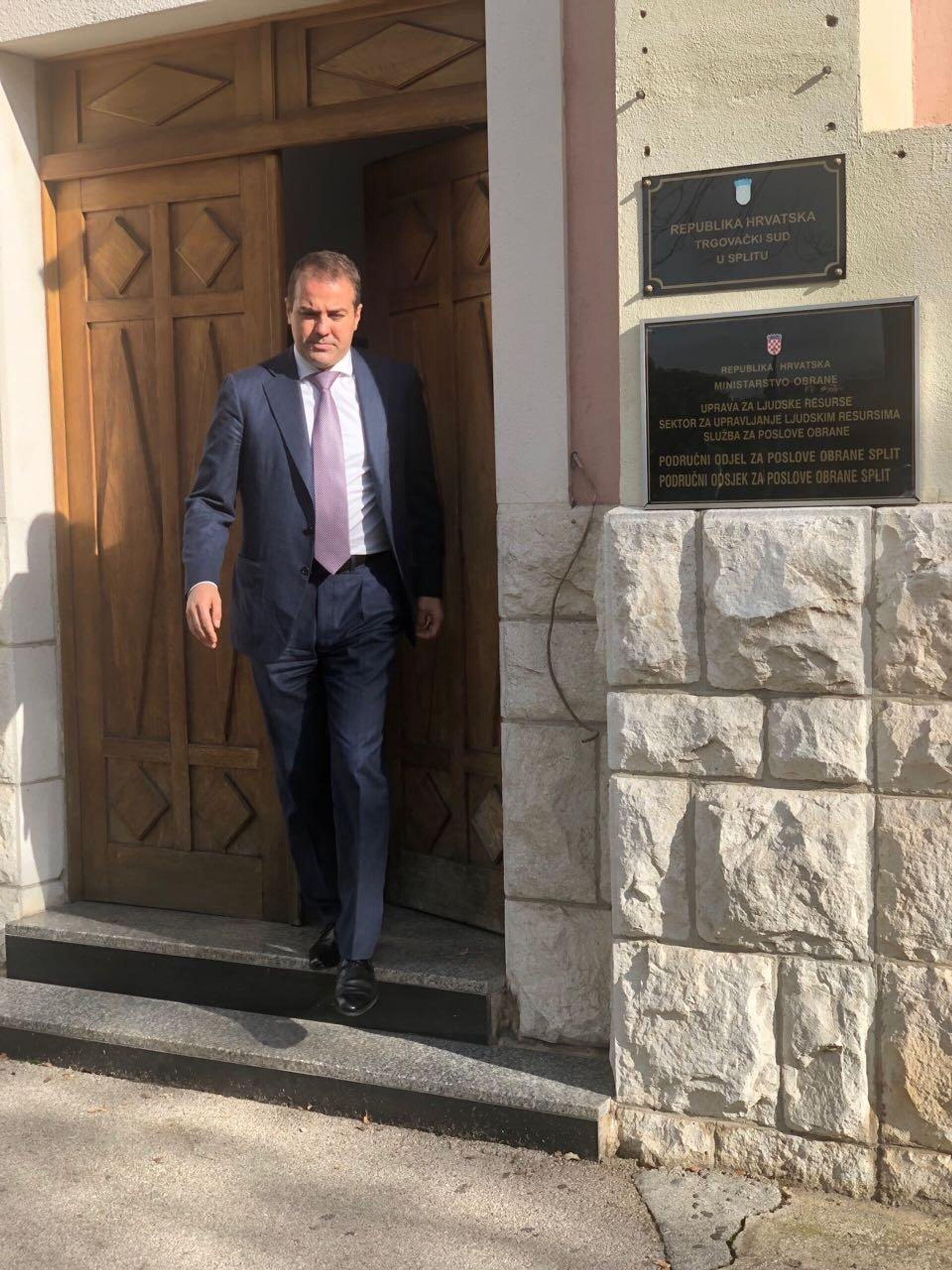 advokat Ivan Simić - Sputnik Srbija, 1920, 18.09.2021