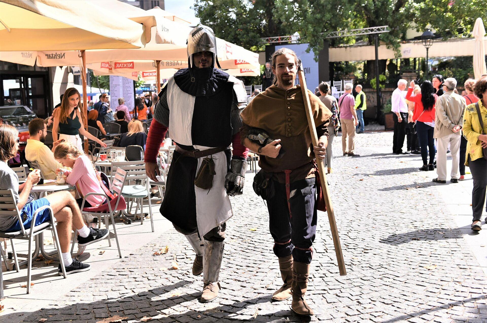 На Фестивалу су се могли видети и средњевековни витезови - Sputnik Србија, 1920, 18.09.2021