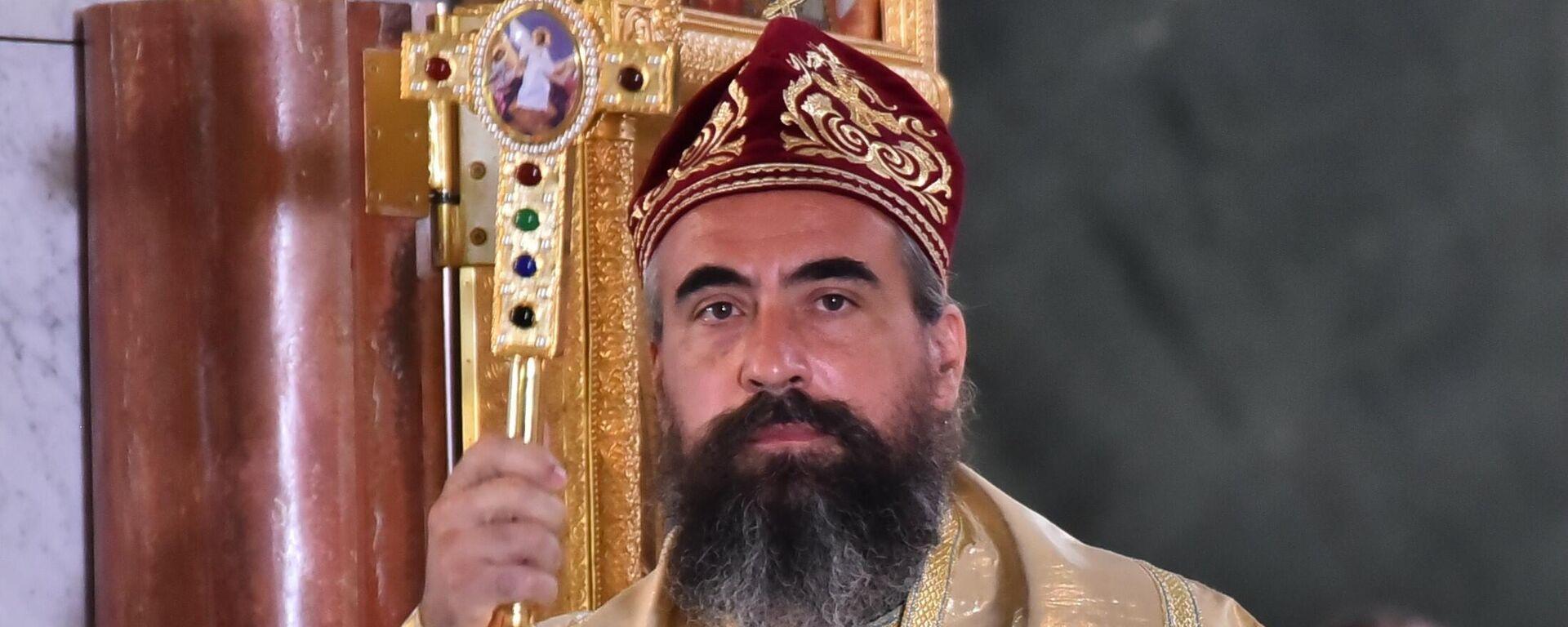 Његово Преосвештенство Епископ изабрани будимљанско-никшићки г. Методије - Sputnik Србија, 1920, 24.09.2021