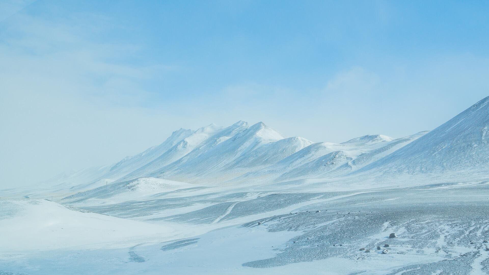 Планина под снегом - Sputnik Србија, 1920, 20.09.2021