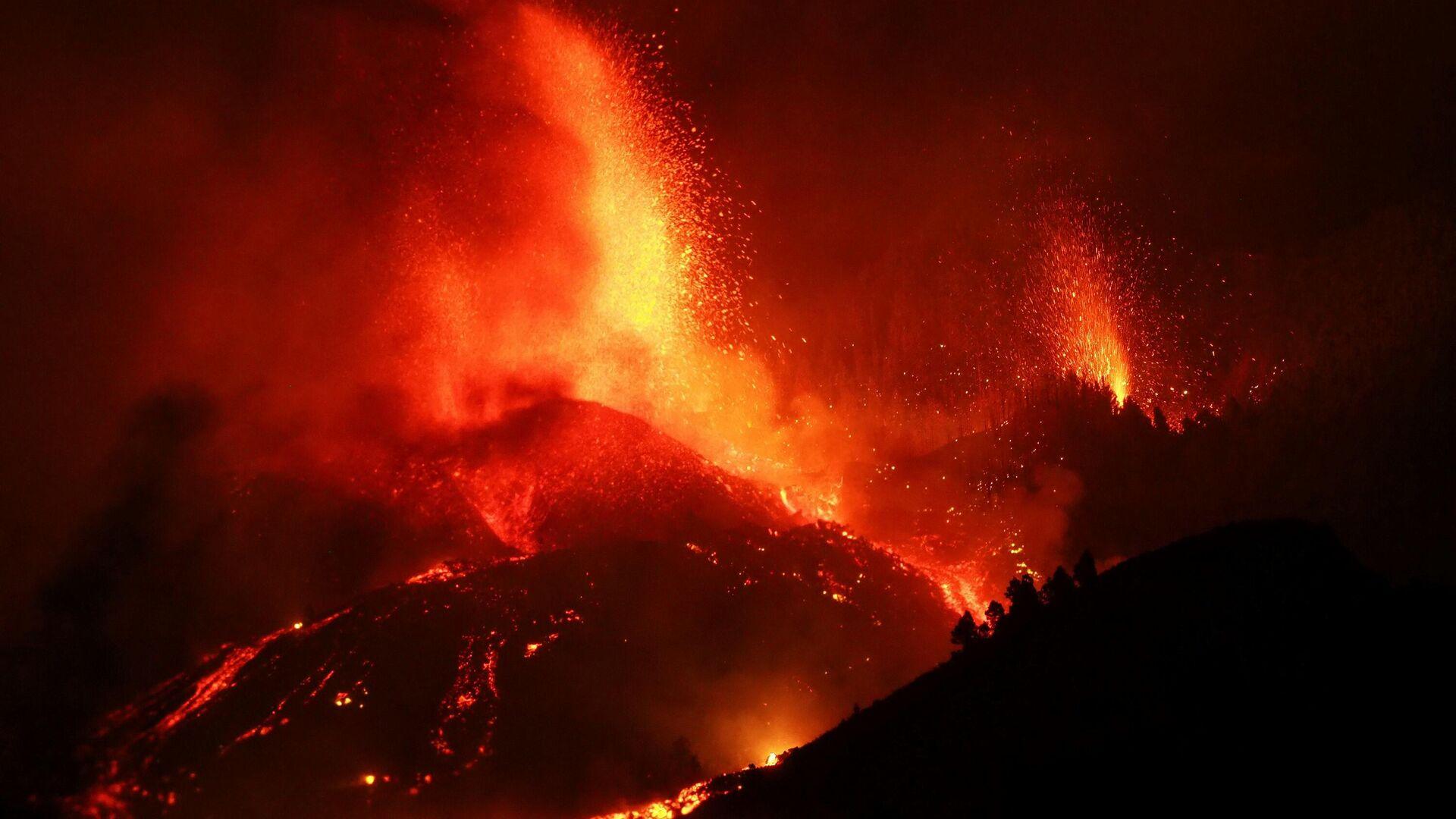 Vulkan na ostrvu La Palma - Sputnik Srbija, 1920, 20.09.2021