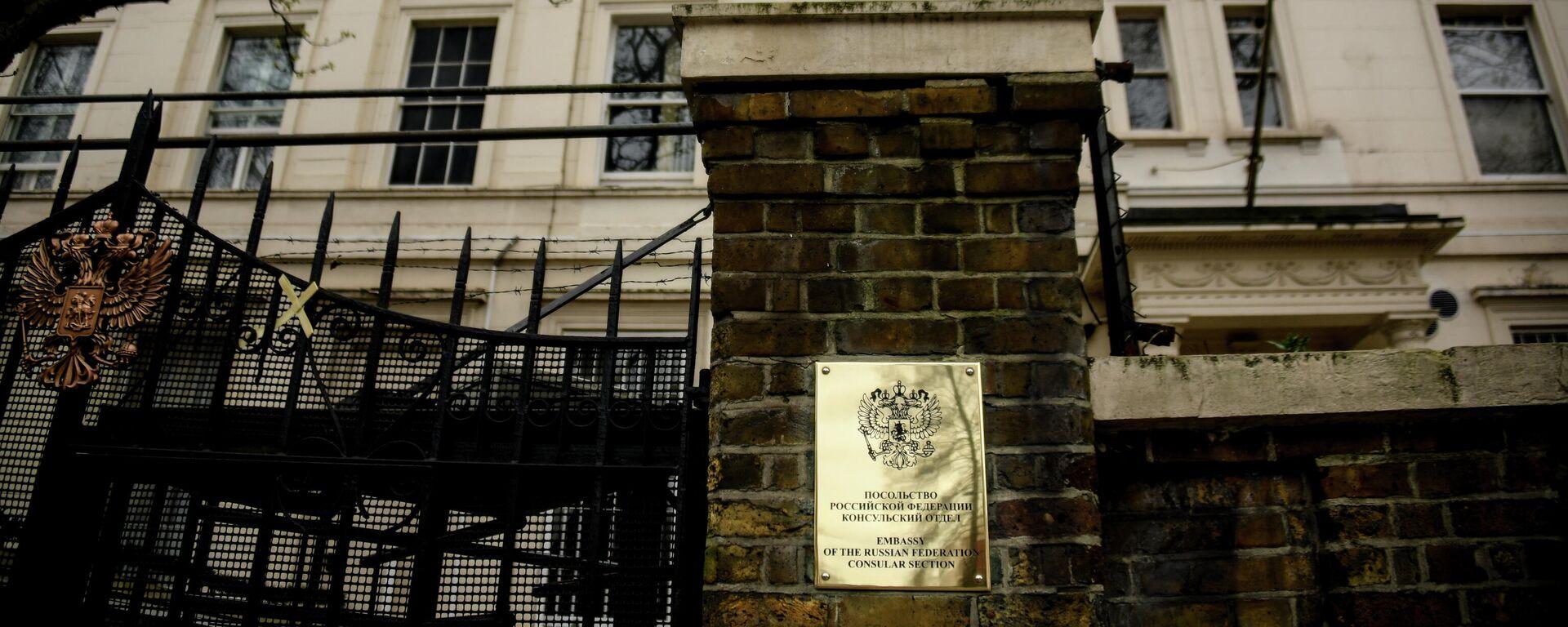 Зграда руске амбасаде у Лондону - Sputnik Србија, 1920, 21.09.2021
