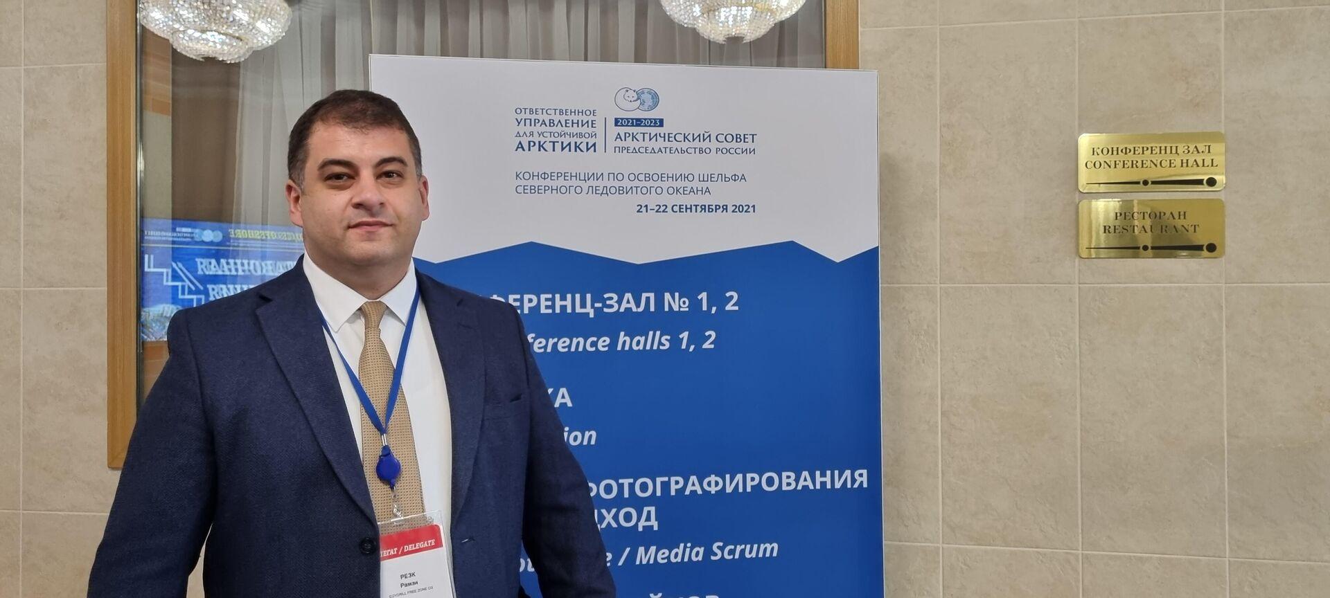 """Ramzi Rezk, generalni direktor kompanije """"Egydrill"""" i ekspert za naftu i gas.   - Sputnik Srbija, 1920, 23.09.2021"""