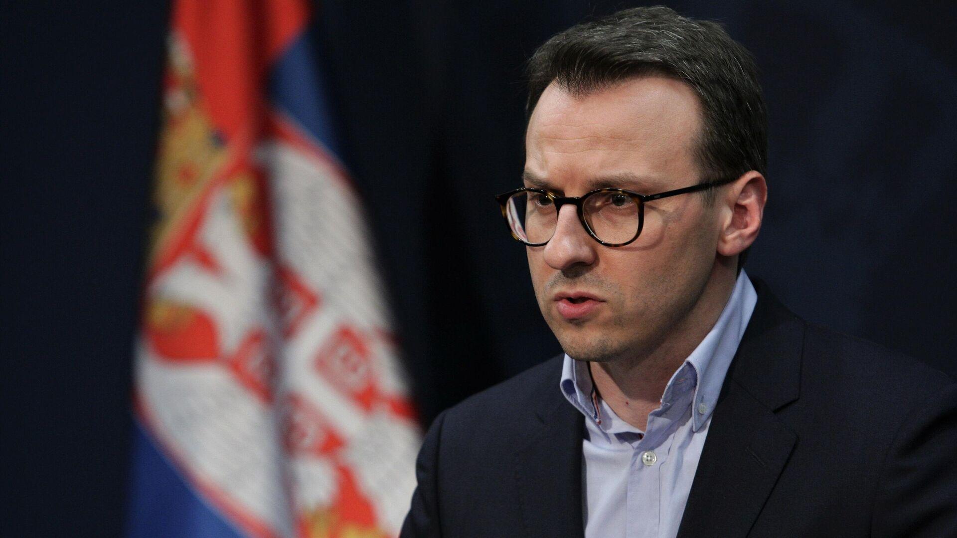 Директор Канцеларије за Косово и Метохију Петар Петковић - Sputnik Србија, 1920, 25.09.2021