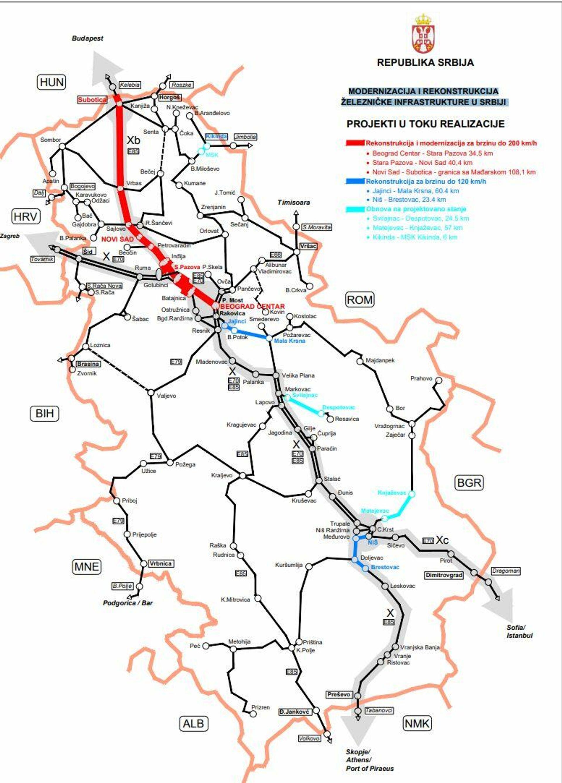 Modernizacija i rekonstrukcija železničke infrastrukture u Srbiji - tekući projekti - Sputnik Srbija, 1920, 24.09.2021