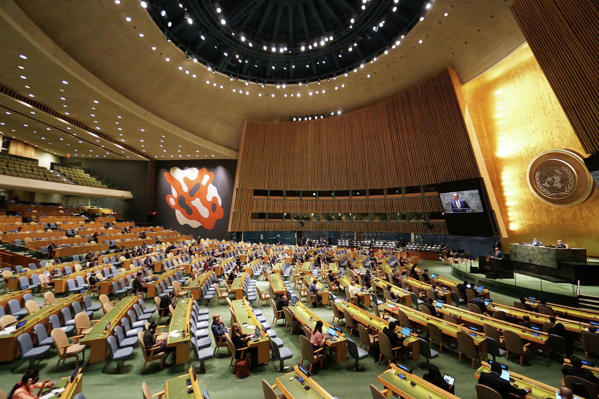 Генерална скупштина Уједињених нација - Sputnik Србија, 1920, 25.09.2021